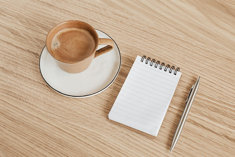What do I need to become a minimalist - empty notepad so nothing