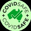 covidsafe australian government green logo